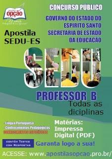 Sedu ES anuncia processo seletivo DT em 2017 - Teixeira Concursos ... 994e6d9350e70