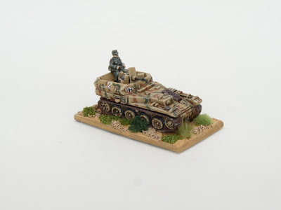 1st place: Flakpanzer, by BH62 - wins £20 Pendraken credit, and a copy of 'Battlefield' and 'Havoc' rules, courtesy of Bombshell Games!