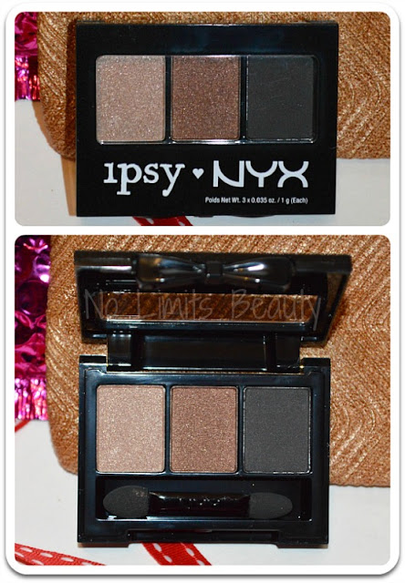 Nyx Eyeshadow Trio in IpsyNyx01