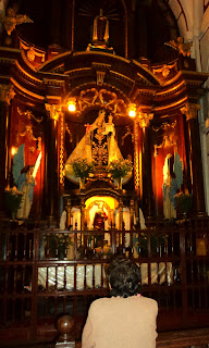 Capela Lateral, na Iglesia de San Francisco, em Lima