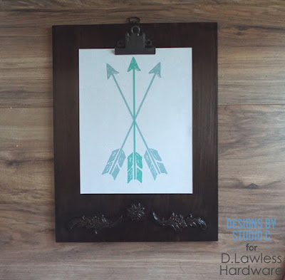 decorative clipboard - D. Lawless Hardware