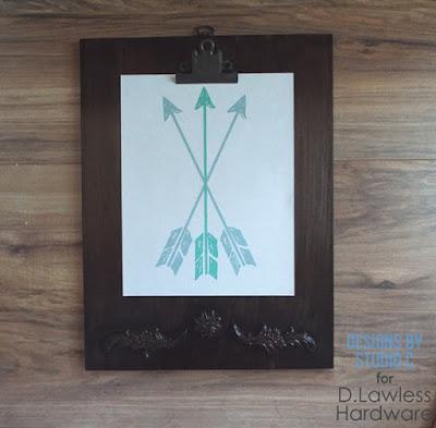 decorative clipboard - D. Lawless Hardware
