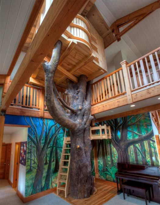 DIY%2BLuxury%2BTree%2BHouses%2Bx 10 DIY Luxury Tree Houses Interior