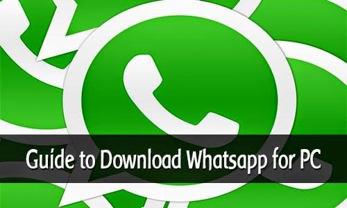 langkah install whatsapp dari pc