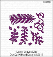Our Daily Bread designs Custom Lovely Leaves Dies