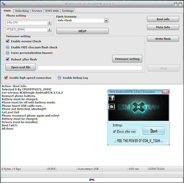 NCK Android MTK Setup 2 5 6 2 Free Without HWID (Without Box