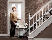 Dolny przystanek krzesełka schodowego