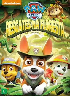 Paw Patrol: Resgates Na Floresta - DVDRip Dublado