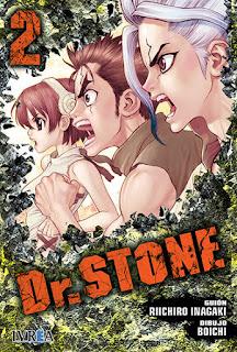 "Reseña de ""Dr. STONE"" vol.2 de Riichiro Inagaki y Boichi - Ivrea"