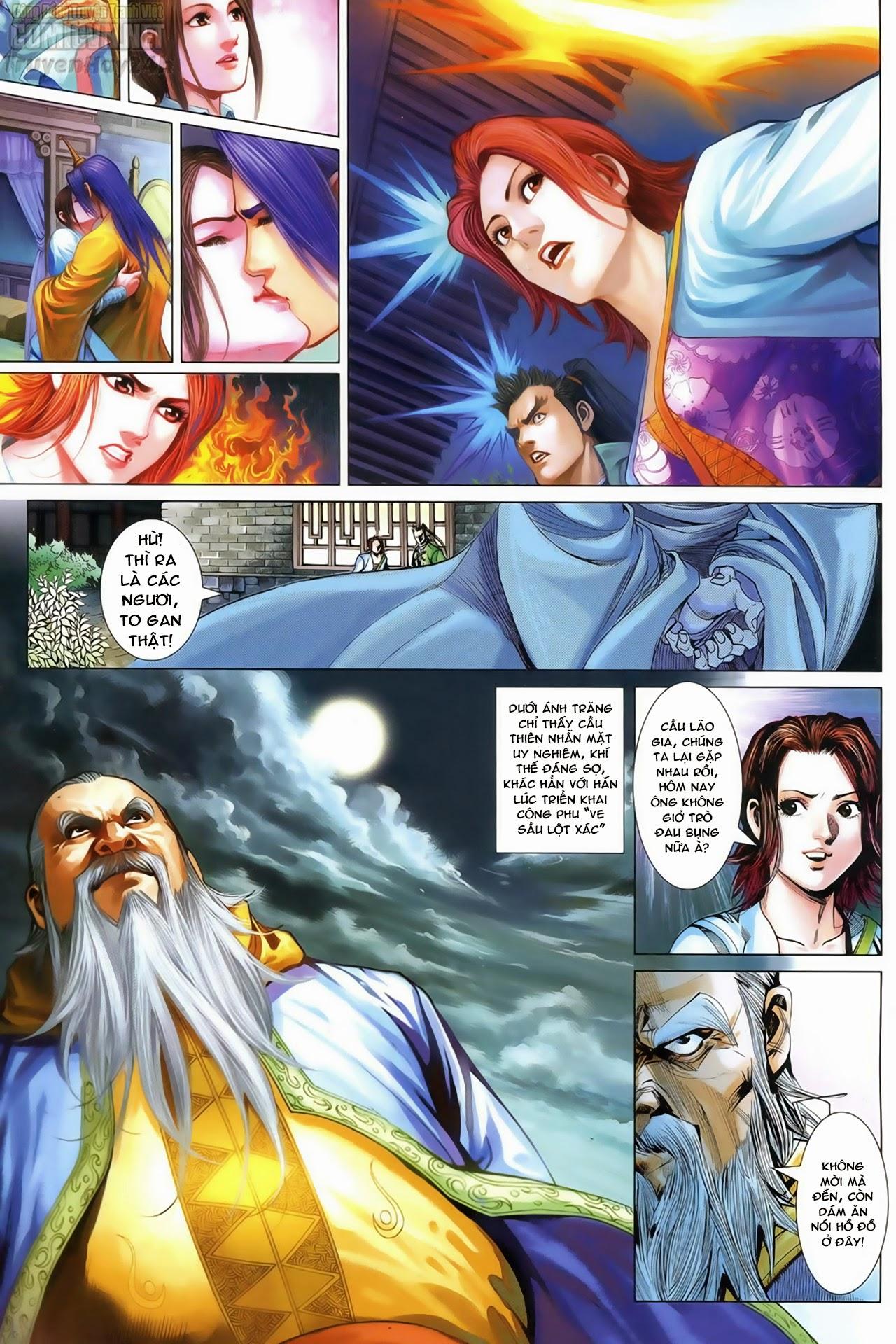 Anh Hùng Xạ Điêu anh hùng xạ đêu chap 69: hồn đoạn thiết chưởng phong trang 3
