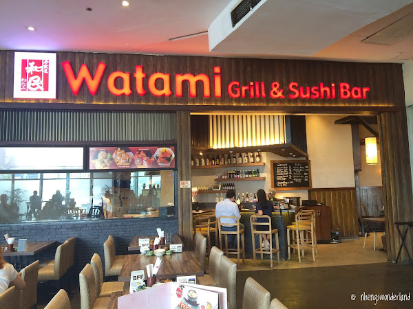 New Offerings From Watami Grill & Sushi Bar - Uptown Mall BGC