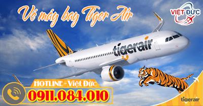 nơi bán vé máy bay Tiger Air chính hãng