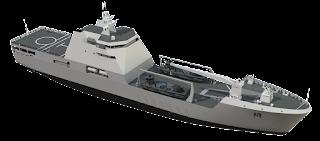 Landing Ship Transport 100 Damen Shipyards