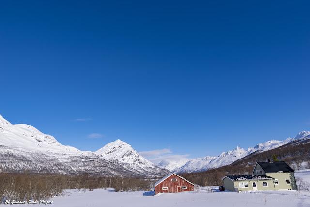 En ruta desde Tromsø a Nordkjosbotn  - Noruega, por El Guisante Verde Project