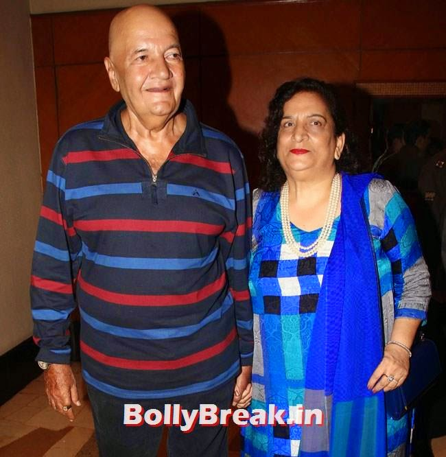 Prem Chopra and Uma Chopra, Celebs at Celebrations of Shatrughan Sinha Lok Sabha Election success