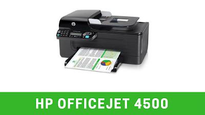 HP Officejet 4500 Driver & Downloads