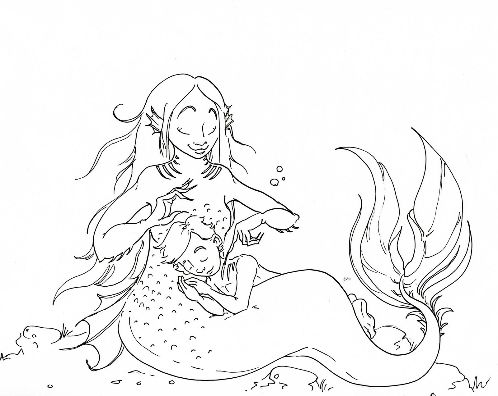 Brush Quibblies Day 29 How Baby Mermaids Are Made