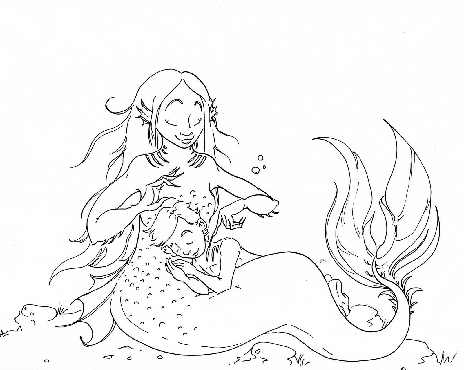 Brush Quibblies Day 29 How Baby Mermaids Are Made