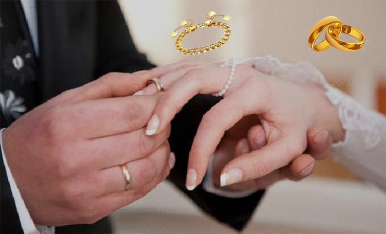 بعد إرتفاع أسعار الذهب .. حمله كبيره ( زواج بدون ذهب ) تعرف على رأى علماء الدين فى هذة الحملة