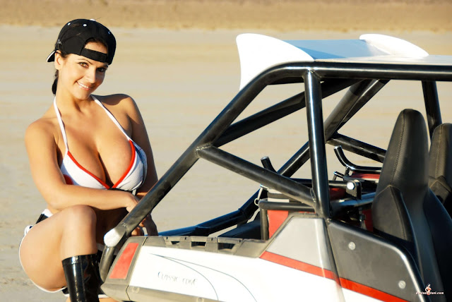 Denise Milani ATV hot and sexy Photoshoot picture 30