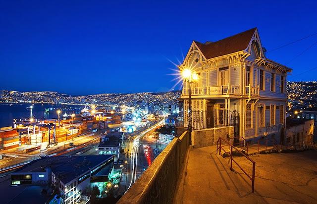 O que fazer a noite em Valparaíso