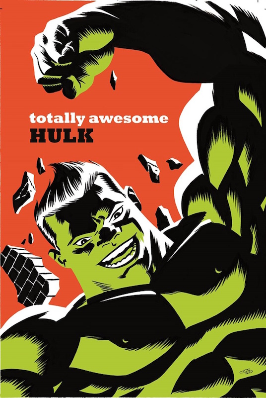 Totally Awesome Hulk by Michael Cho.