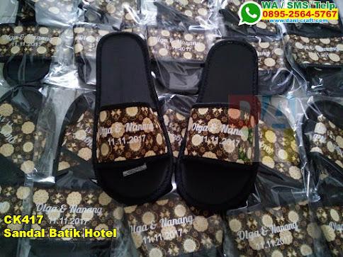 Grosir Sandal Batik Hotel