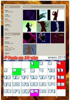 CUAZ: Calendario 2015 Mejores Demos de la Historia del Amiga