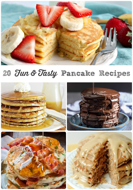 Whether you happen to go for fruity, chocolaty, savory, healthy-ish, or dessert inspired, there is definitely a pancake perfect for you in these 20 Fun & Tasty Pancake Recipes.