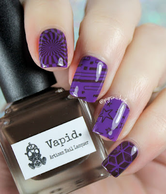 Vapid stamping with the HeHe 003 plate