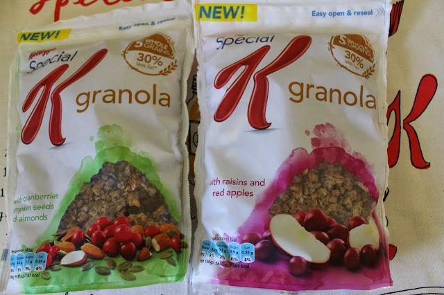 Kellogg's Special K Granola - www.jibberjabberuk.co.uk