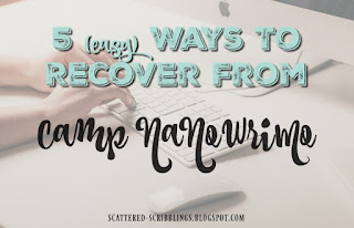 http://scattered-scribblings.blogspot.com/2017/05/5-easy-ways-to-recover-from-camp.html