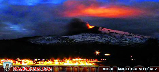 Crece el alerta por la erupción del Copahue y no descartan evacuar | Rosarienses, Villa del Rosario