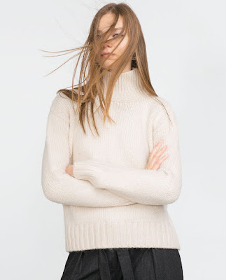 Zara Sweater With Turtle Neck