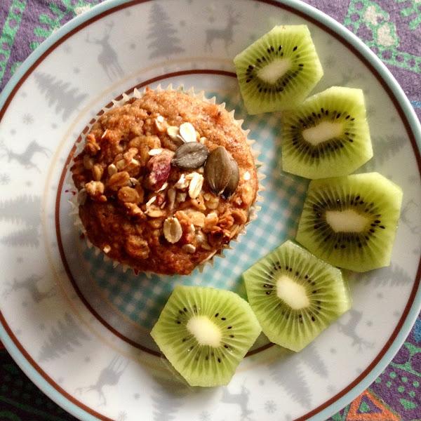 Rezept: Cranberry Granola Muffins (Vegan & Glutenfrei)