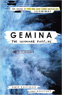 Gemina by Amie Kaufman and Jay Kristoff book two in the Illuminae files