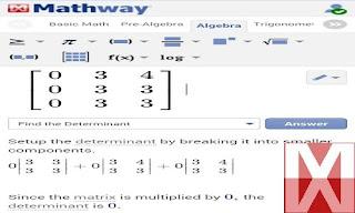 2. Mathway - Math Problem Solver