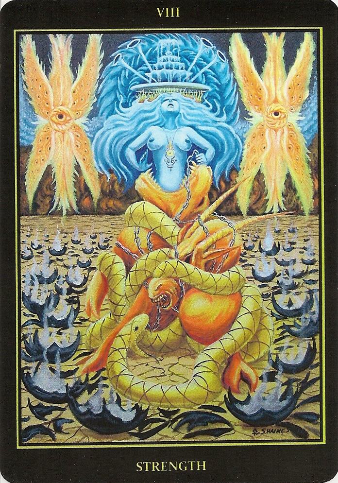 Eno's Tarots: Tarot Of The Golden Sepent