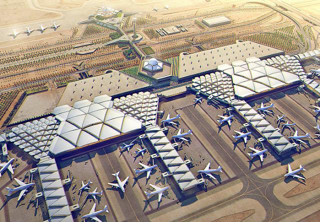 مشروع مطارات: مشروع توسعه مطار الملك خالد