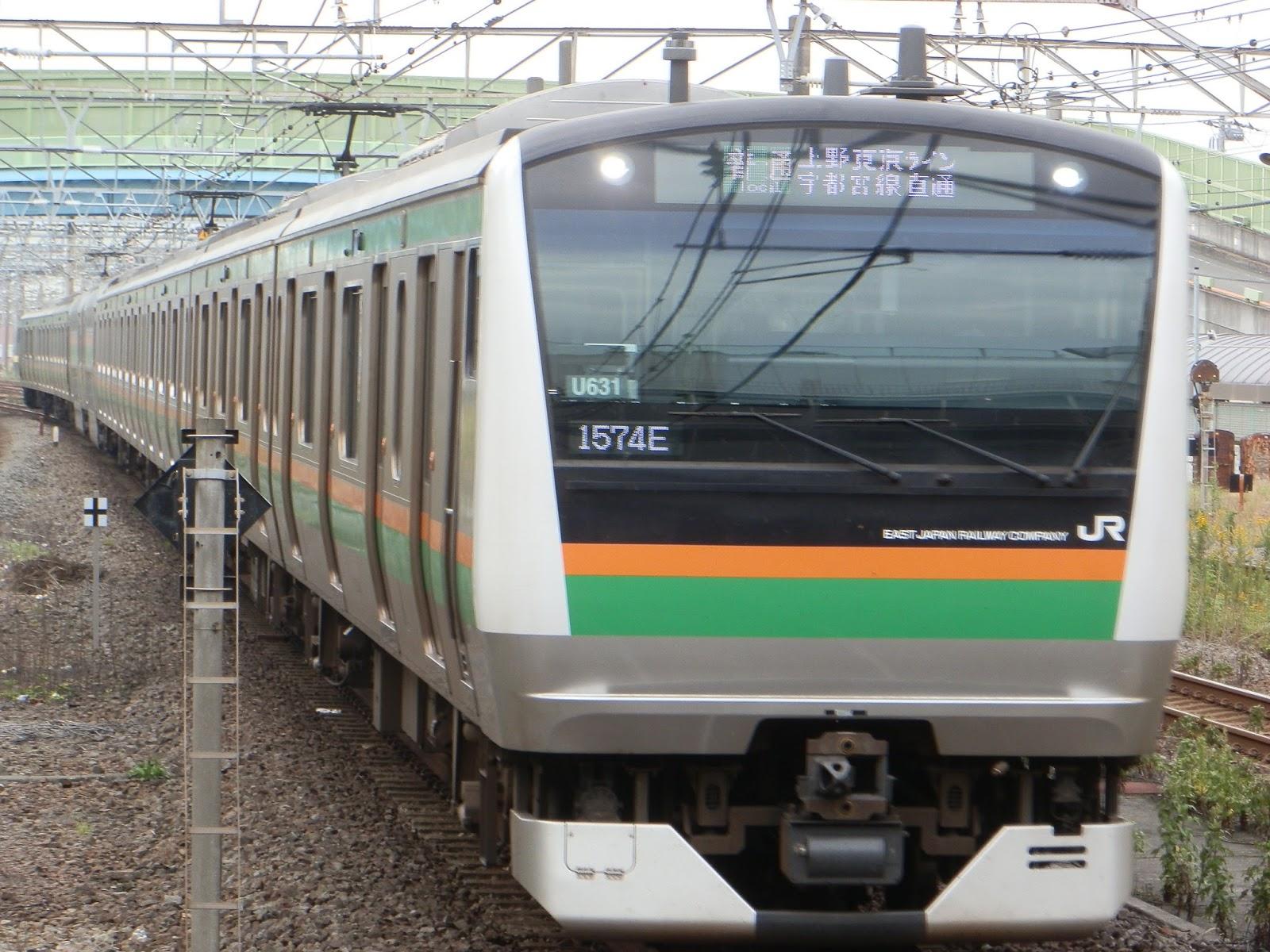 小田急沿線住み鉄道ファン日記 東日本旅客鉄道東海道線 上野東京