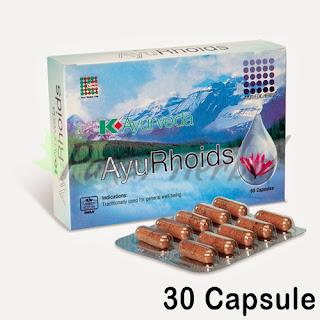 K-Ayurveda AyuRhoids (30 Caps)