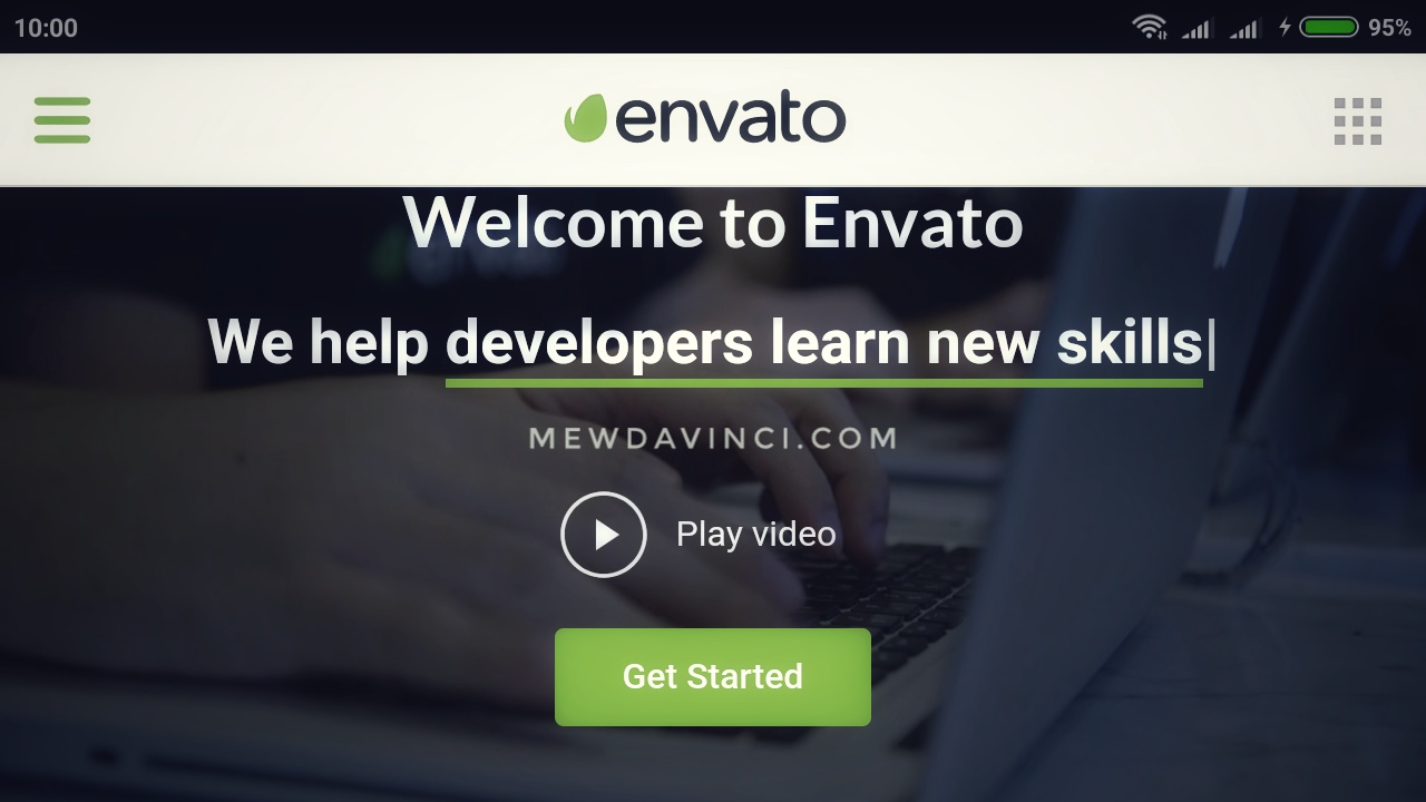Envato helps designers grow their strenght