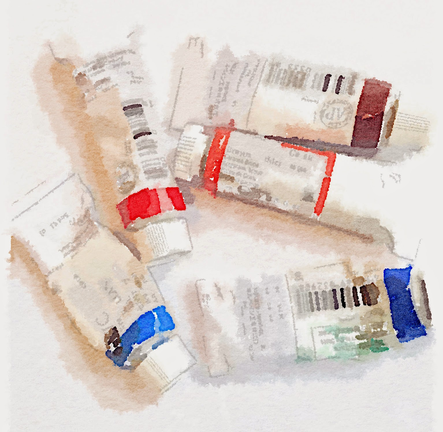 learn watercolor techniques by schulmanart on theinspirationplace.net