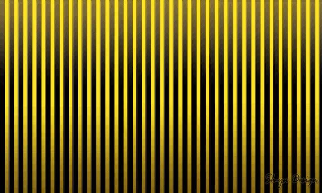 Sh Yn Design Stripe Pattern Wallpaper Yellow Black