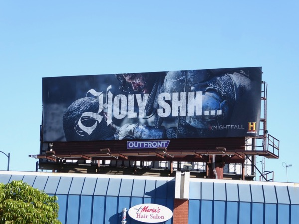 Holy Shh Knightfall billboard