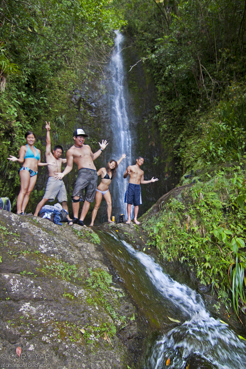 Step Falls in Manoa Valley  Best Honolulu-Oahu Attractions - Things to Do in Honolulu-Oahu