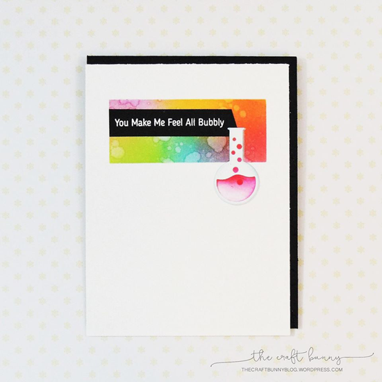 Laina Lamb Design Undeniable Chemistry stamp set and Chemistry Set Die-namics - Amy Lee #mftstamps