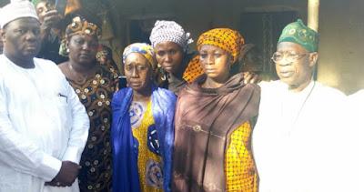 Lai Mohammed, Others Visit Leah Sharibu's Parents (Photo)