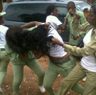 female nysc corper engaged same man