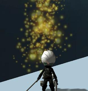 Gold Sparkles Gas AOTTG